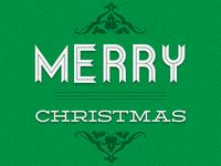 Merry Christmas Allgreen