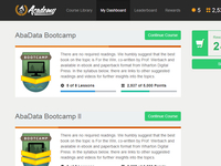 E-Learning WordPress Theme - My Dashboard