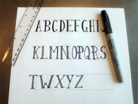 Soon to be font.