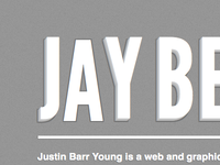 Re-designing my personal site