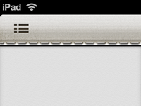 Potential Toolbar Design for iPad App