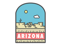 Arizona Badge