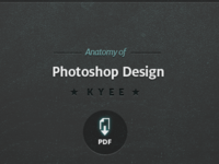 Anatomy of Photoshop Design cover