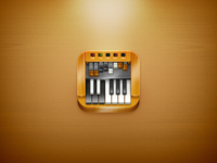 Hammond Organ iPhone 4 icon