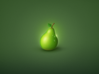 Pear From Space