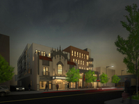 Mayfair Building Rendering (Night)