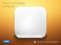 Free iOS Icon Template (PSD)