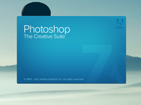 Photoshop CS 7 Splash Screen