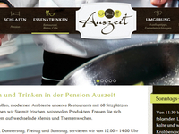 Pension Auszeit Website