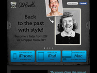 New OldBooth website. www.oldbooth.com