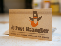 The Pest Wrangler (business cards)