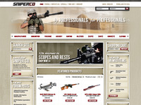 Sniper Co. Homepage Design