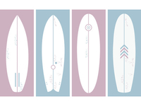 surfboards art