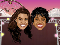 Jordin Sparks and Gladys Knight