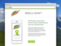 Dew or Don't Website