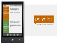 Polyglot app for Windows Phone