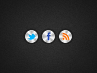 Push Metal Social Icons