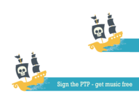 Popout for the Petition to Pirate