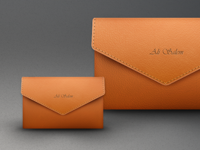 Leather Envelope (Fixed shadows)