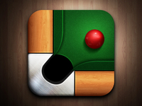 Icon billiard