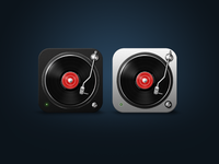 iOS Music Icons