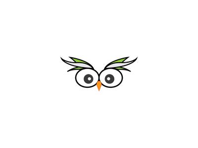 猫头鹰的眼睛_乐乐简笔画