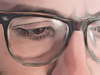 Dallas Green Digital Painting