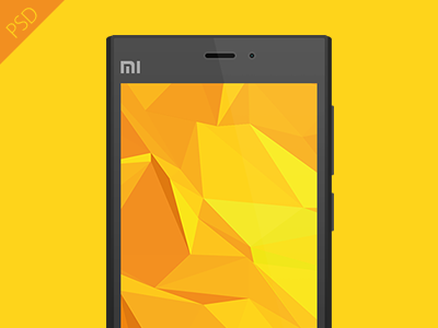 Download Mi3 Smartphone Mockup PSD