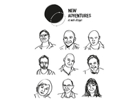 Quick sketch of this years NAConf speakers