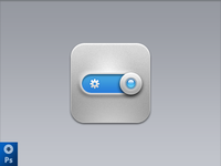 iOS icon ( Download PSD )