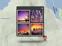 InstaEarth Multi-photo Marker