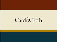 Card & Cloth colors