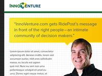 Email marketing for InnoVenture.com