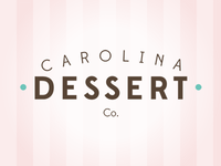 Carolina Dessert logo - adding color