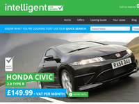 Intelligent Car Leasing: Home Header