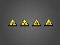 Hazard Warning Icons