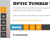 Optic: Share Button On