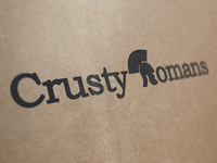 Crusty Romans Logo