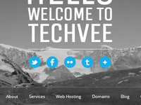 Techvee: Social Links