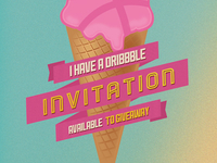 Dribbble Invite Giveaway - Summer is here!