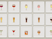 Shindig App Drink Icons