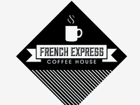 French Express Coffee Logo