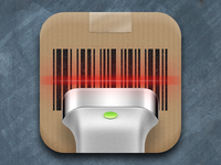 Bar-code scanner iOS icon