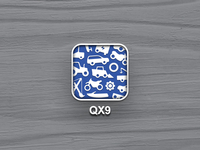 QX9 iOS app icon