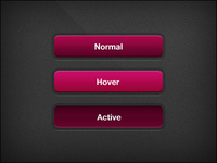 Button menu – Red