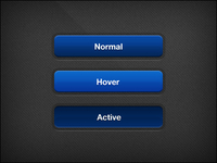 Button menu – Blue