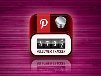 Icon for PinTrack - Follower Tracker For Pinterest