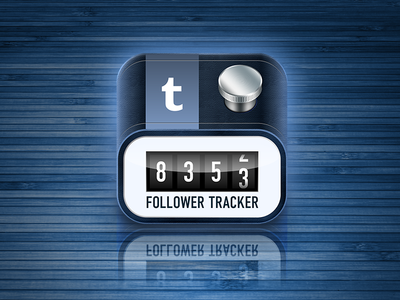 Icon for TumblrTrack - Follower Tracker For Tumblr