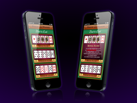 Poker Hands app UI
