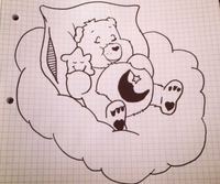 Sharpie Care Bear